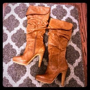 Jessica Simpson Knee High Brown Boots